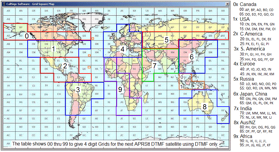 Qikcom 2 module the first two letters of the grid then become just two digits from the 00 99 table you can see that our maryland fm19 grid becomes 1819 in dtmf gumiabroncs Image collections